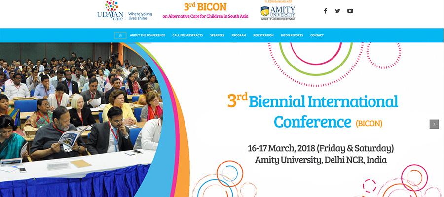 Bicon website homepage