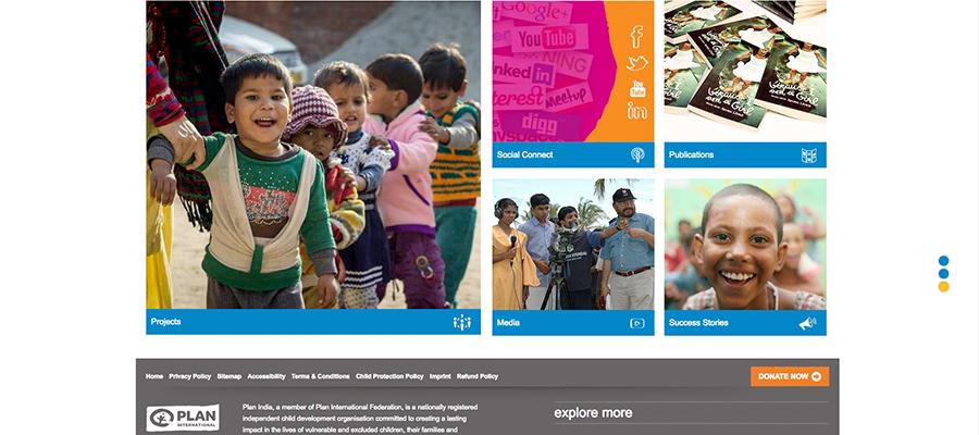 Plan India Website
