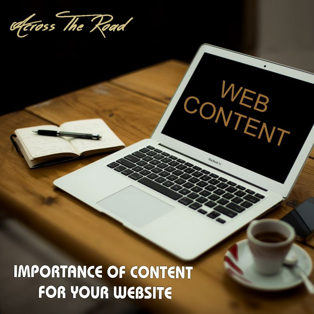 Why Content is so Vital for any Website?